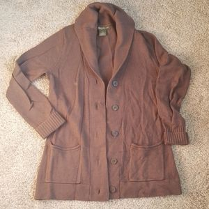 Shawl Collared Sweater